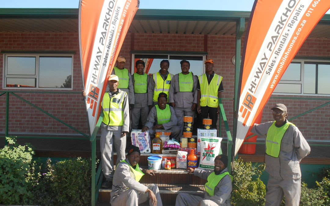 Donating to the Community for Mandela Day 2015